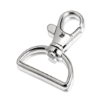 KJ096 Metal wholesale lobster claw clip for lanyard