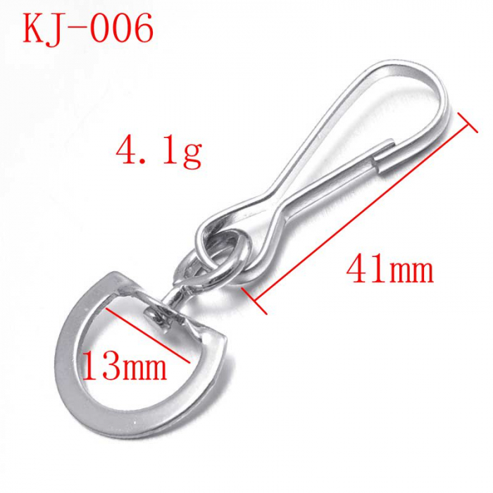 metal bag clips