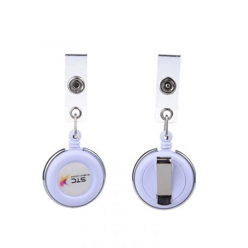 id badge retractable clip
