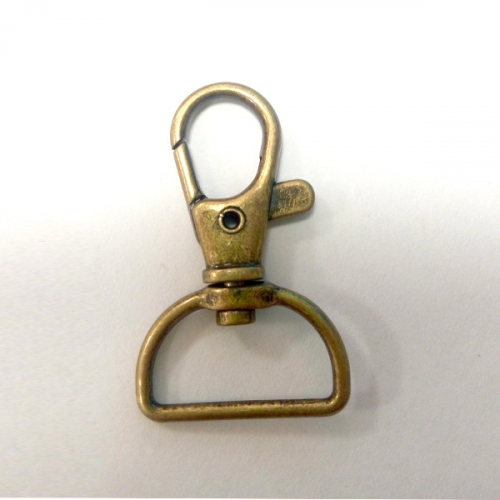 brass swivel clip