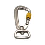 Personalized swivel locking pet leash hook wholesale