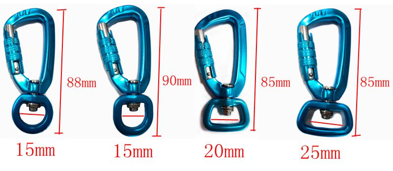 lightest locking carabiner