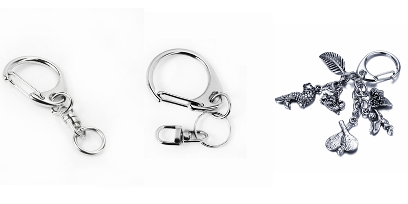 types of keychain clips
