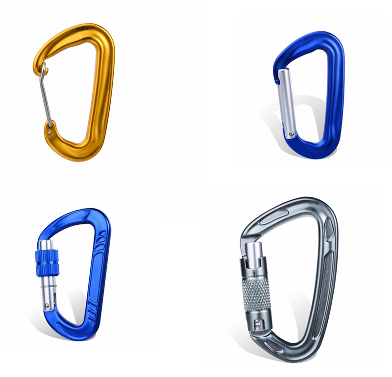 How much weight can a carabiner hold