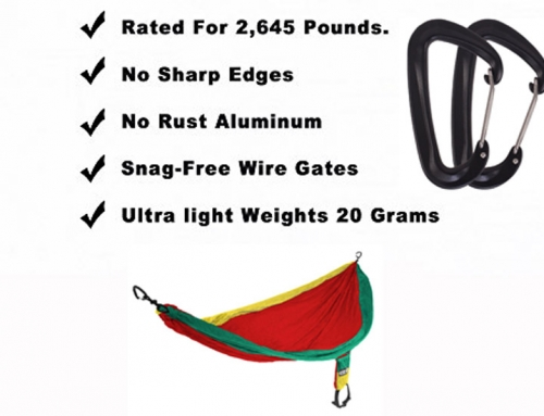 Carabiner strength rating needed to hang hammock