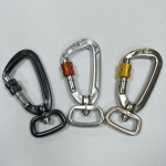 Lightweight locking dog leash snap hook making supplies
