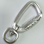 15MM outdoor swivel aluminum carbiner hook manufacturers