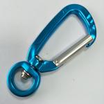 15MM aluminum snap carabiner for climbing dog leash