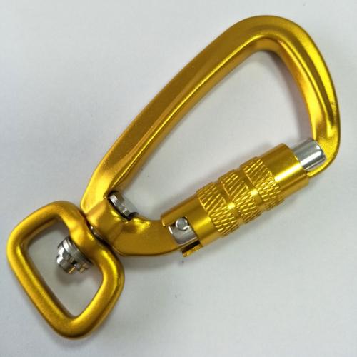 safety locking carabiner