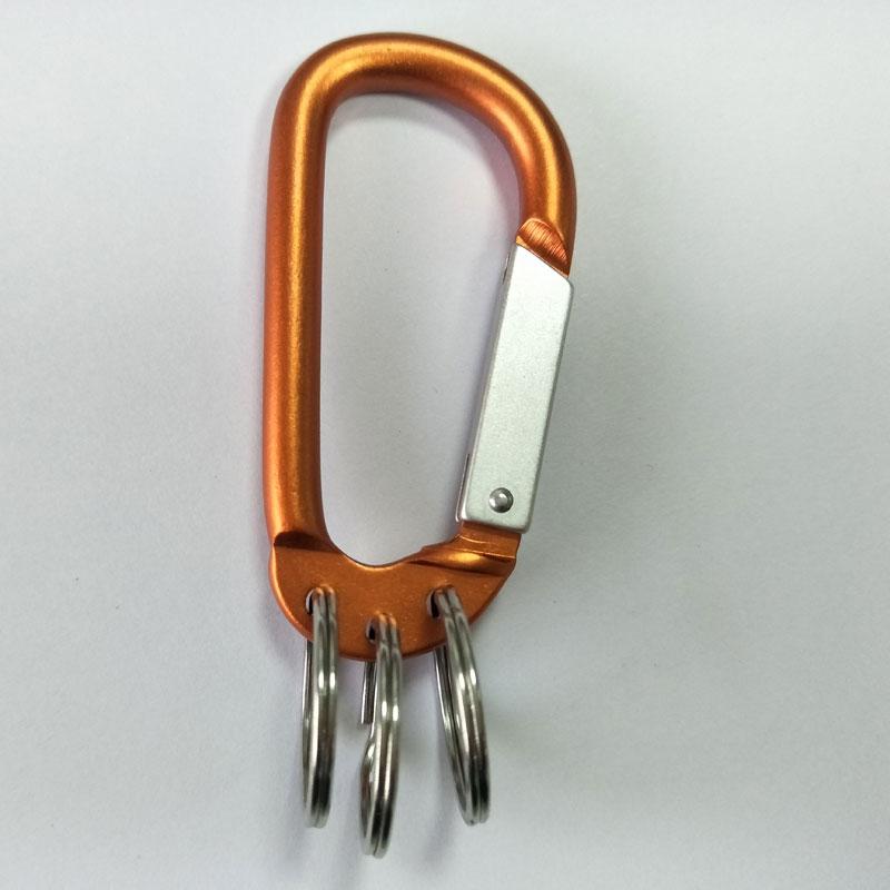 aluminium keychain carabiner