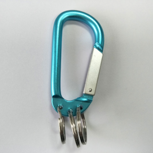 aluminum carabiner key rings