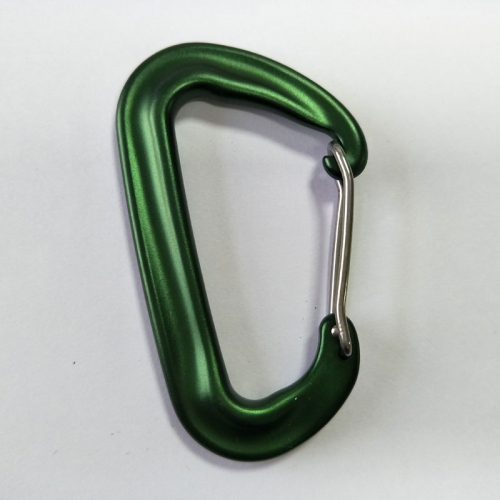 aluminum d-shaped carabiner