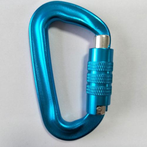cheap aluminum carabiner hook