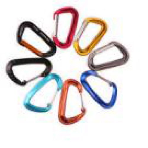 colored carabiners