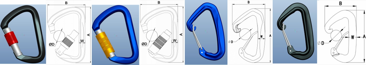 what is a carabiner hook