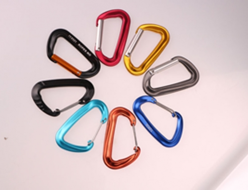 what are carabiners made of
